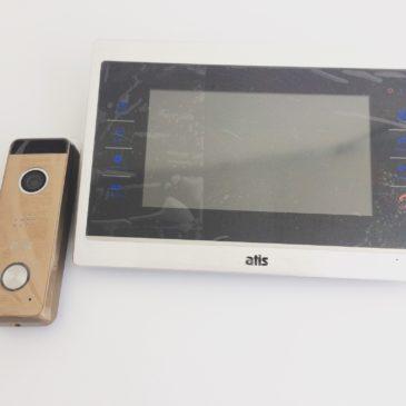 Цветной домофон с TFT сенсорным экраном